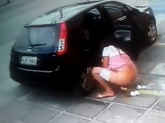 She needed to take a quick poop! on Watchteencam.com