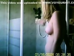 Crazy voyeur Showers xxx clip on Watchteencam.com