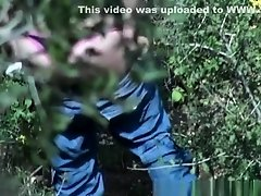 Nice ass woman caught pissing in the woods on Watchteencam.com