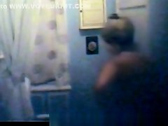 Wife change in home on Watchteencam.com