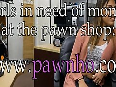 Pretty woman drilled by nasty pawn dude in his office on Watchteencam.com