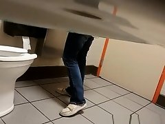 Coffee shop hidden toilet camera catches woman on Watchteencam.com