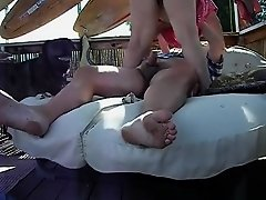 Riding hard outside on Watchteencam.com