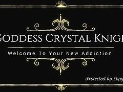 Greatest Tit Worship Mind Fucking Tease by FemDom Goddess Crystal Knight on Watchteencam.com