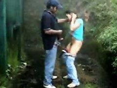 Shameless Desi Girl Got Fucked By Her BF In Backyard on Watchteencam.com
