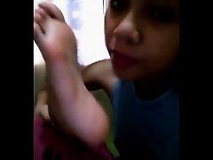 Asian Self Foot Worship on Watchteencam.com