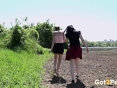 Double the fun – Two Pissing Girls compilation. Got2Pee on Watchteencam.com