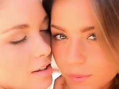 models enjoy lesbian times outdoors on Watchteencam.com