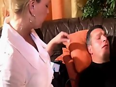 Nurse cures his patient by giving a head on Watchteencam.com