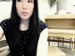 J@zzkitten Asian Girl No Clothes Day in Public Library Webcam!!! on Watchteencam.com
