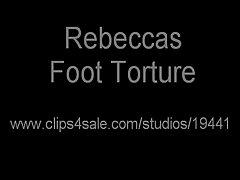 4 tickled feet on Watchteencam.com