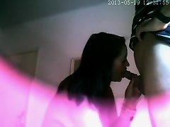 Witty dude secretly filmed a whore on Watchteencam.com