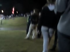 Hottest asses in the football crowd on Watchteencam.com