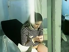 Cute chick spied during an examination on Watchteencam.com