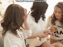 Unforgettable foursome on Watchteencam.com