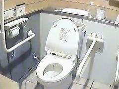 Toilet girls exposed on camera spy on Watchteencam.com
