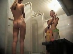 Hidden cameras in public pool showers 95 on Watchteencam.com