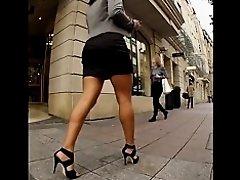 Very Hot Girl in High Heels on Watchteencam.com