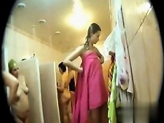 Hidden cameras in public pool showers 766 on Watchteencam.com