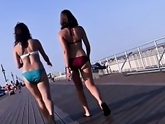Hot Ass on Bikini Teen (red) on Watchteencam.com