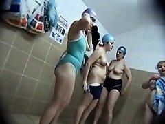 Hidden cameras in public pool showers 503 on Watchteencam.com