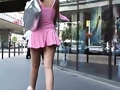 Chic Girl Exudes Style and Confidence (First Part) on Watchteencam.com
