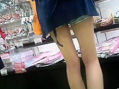Canded shorts and legs with face 2-3 on Watchteencam.com