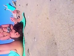 Candid teen Feet and toes at the Beach on Watchteencam.com