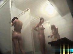 Hidden cameras in public pool showers 21 on Watchteencam.com
