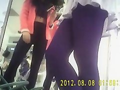 Sexy girl in super mini skirt and black tights-2 on Watchteencam.com