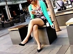 Bare Candid Legs - BCL#052 on Watchteencam.com