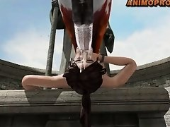 Lara Croft & Horse on Watchteencam.com