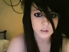 Emo Babe Hungry for Cock on Watchteencam.com