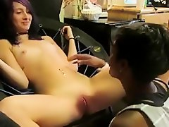 Lesbian sex experiment in college. black girl makes her squirt !!! on Watchteencam.com