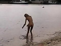 Russian Nudism Episode 2 Sexy Beauties Playing Exposed On Beach on Watchteencam.com