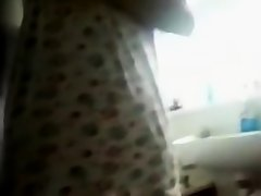 Indian immature in shower on Watchteencam.com