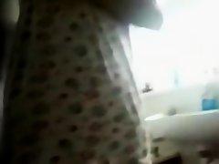 Indian immature in shower on Watchteencam.com