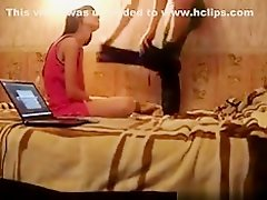 Sex tape of juvenile Russian pair on Watchteencam.com