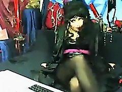 jazmine  mz nylonz (dec) on Watchteencam.com