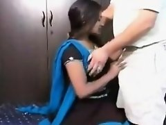 Indian Girl getting foreplay with her Neighbour man on Watchteencam.com