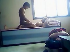 Indian college students homemade sextape on Watchteencam.com