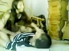 Arab girl fucks and old man cowgirl, doggystyle and missionary quickie on a matress on the floor. on Watchteencam.com