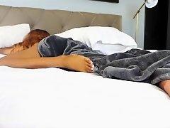 Sleeping Feet: A Voyeur's Perspective  Kylie Kisses on Watchteencam.com