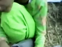 Pakistani angel drilled in fields on Watchteencam.com