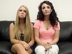 Amateur casting Robyn and Tonya on Watchteencam.com