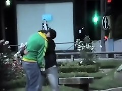 Fingering in public got caught by a voyeur on Watchteencam.com