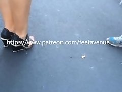 Marie's feet Patreon C4S on Watchteencam.com
