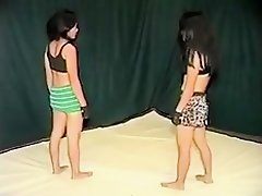 Me and my GF fight and go lesbian in homemade video on Watchteencam.com