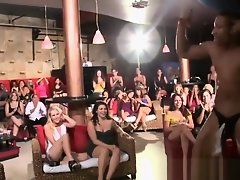 Party loving lady spreads her legs up wide for hung stripper on Watchteencam.com