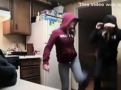 Two coeds enjoy erotic dance on Watchteencam.com